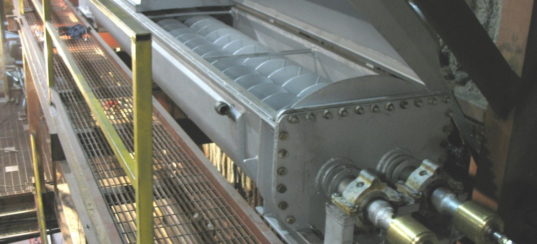 Inside plant – dryer unit